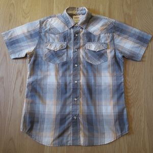 Levi's Plaid Western Barstow Short Sleeve Shirt